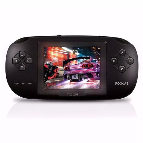 Consola De Juegos Portátil Noga Pocky 8 Bit 168 Juegos Tv