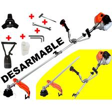 Desmalezadora Motoguadaña 52cc Desmontable Desarmable Unica