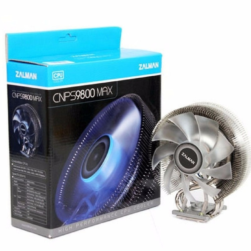 Cooler Cpu Zalman Cnps9800 Max Alto Rendimiento Amd Intel
