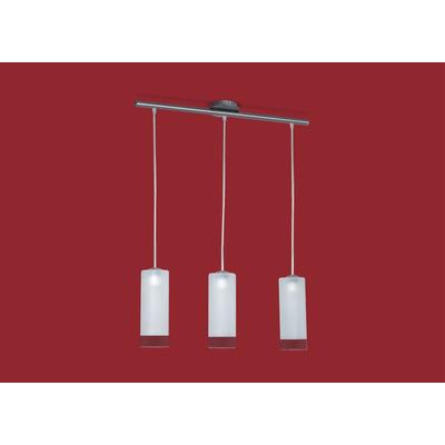 lampara colgante bajo consumo 3 luces ronda oferta garantia