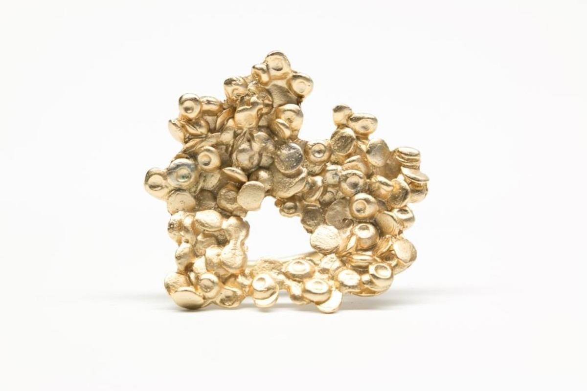 Lentejas Anillo - Baño de Oro