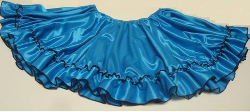 725015a90 Pollera Doble Plato Real Mujer Disfraz Baile Danza Española en venta ...