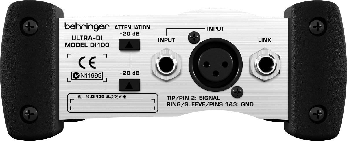 Caja Directa Activa Behringer Ultra-di Di100 A Baterìa
