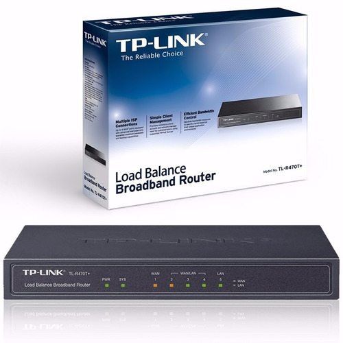 Router Dual Wan Tp-link Tl R470t Hasta 4 Wan Balance Carga