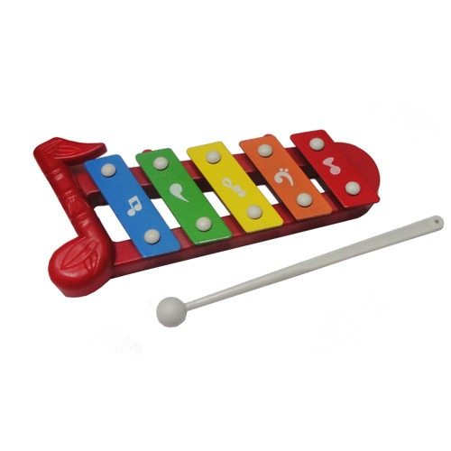 Xylophone Xilofono  Musical Instrumento Palillo  En Blister