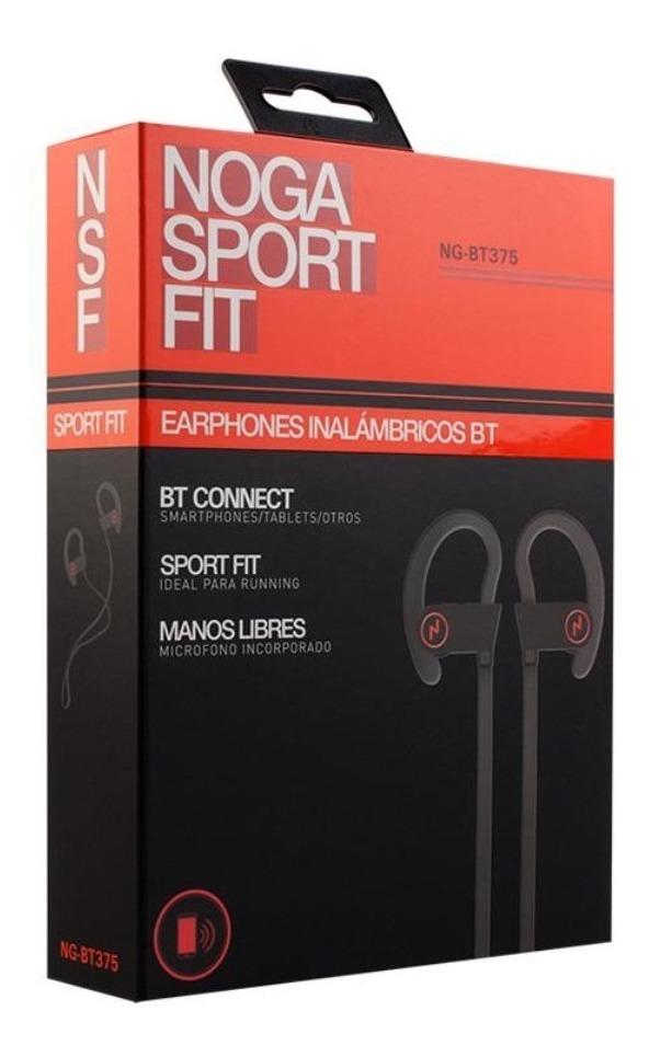 Auricular Bluetooth Deportivo Running Ng-bt375 Noga Sport