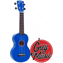 Ukelele Soprano Mahalo Mr1bu Azul C/ Funda  - Grey Music