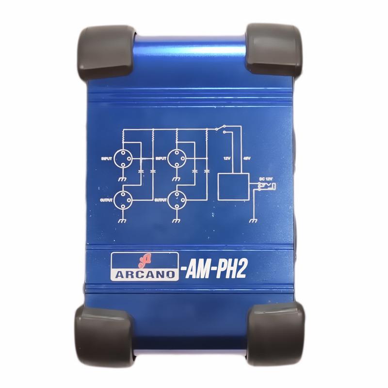 ALIMENTACAO DE PHANTON POWER ARCANO PARA MIC COND AM-PH2