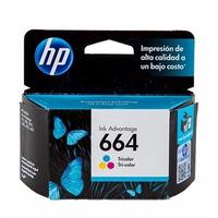 HP 664 Tri-color Ink Cartridge