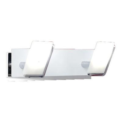 Aplique Pared Interior Moderno 2 Luces Led 12w Ideal Baño