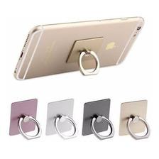 Anillo Soporte Para Celular Negro Plateado Ring Smartphone