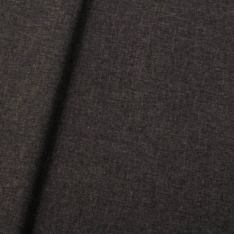 Tecido linho sintético mescla preto-bege (15) Coleção New York IV