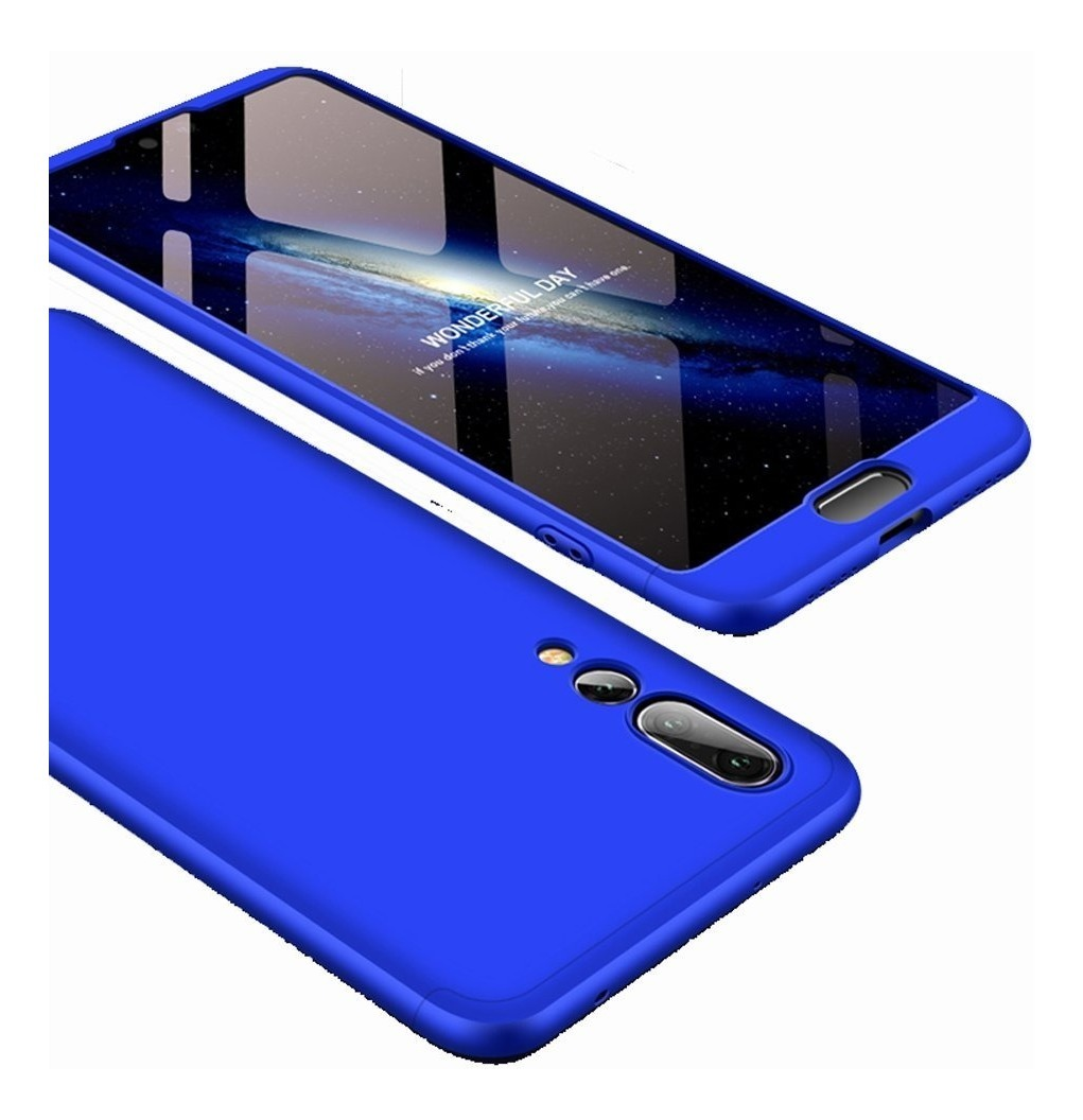 Funda 360 Luxury Huawei P20 Lite Pro 3 En 1 + Glass Templado