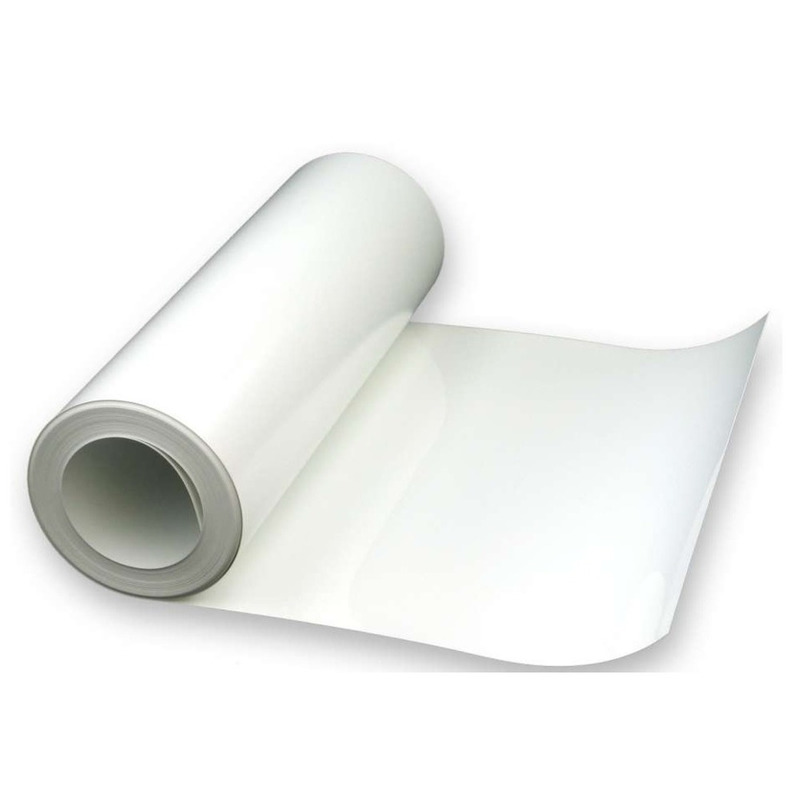 Vinil Adesivo para DIGIMAX/COLORMAX branco SEMI-BRILHO 0.08 Larg. 0,50 m