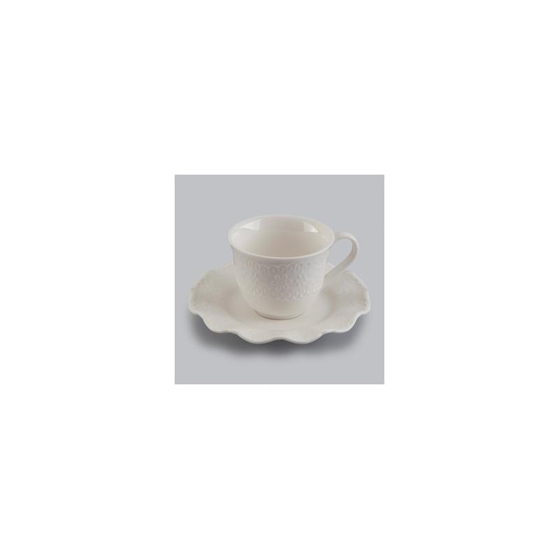 Jogo 06 Xícaras Para Café Princess em porcelana  90Ml 4108163
