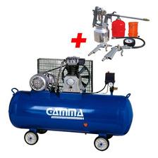 Compresor 150 Litros 3 Hp 220v + Kit Gamma Hot Sale