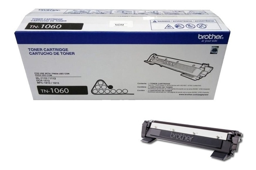 Toner Brother Original Tn1060 Hl1212w/1200 Mfc1815 Dcp 1617w