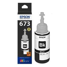 Tinta Epson 673 673120 Negra L800 L810 L850 L1800 Original
