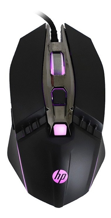 Mouse Gamer Hp M270 Luz Led Optico 2400dpi Usb