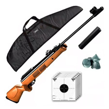 Rifle Aire Comprimido Fox Gr1600 X Piston + Funda Cuotas