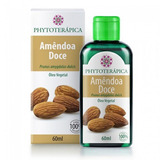 Oleo Vegetal de Amendoa Doce - 60ml - Phytoterapica