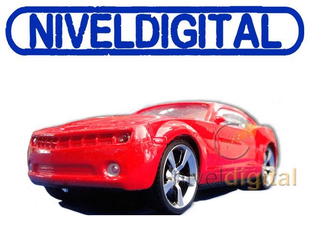 Radio Control 2 Funcion Chevrolet Cupe Camaro Luces Delant