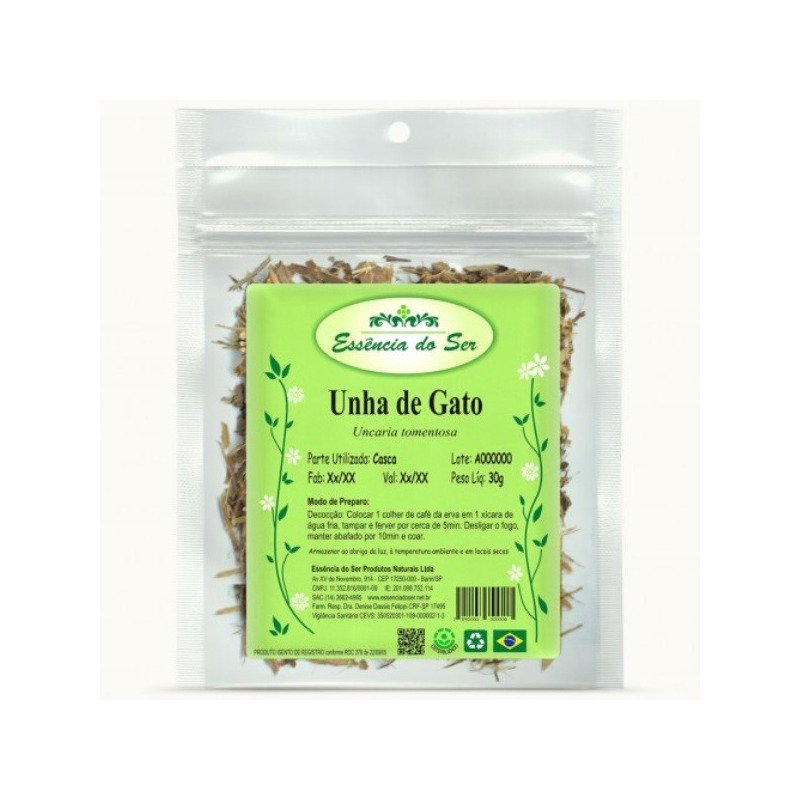 Cha de Unha de Gato - Kit 3 x 30g - Essencia do Ser