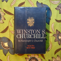 Randolph S. Churchill.  WINSTON S. CHURCHILL: YOUTH, 1874-1900.