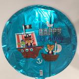 globos pirata 45cm desinflado apto helio