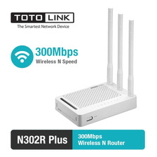 Router Totolink Wireless N302r Plus 300mbps 3 Antenas
