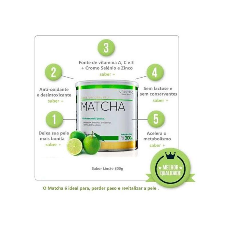 Matcha (Sabor Limao) - 300g - Upnutri