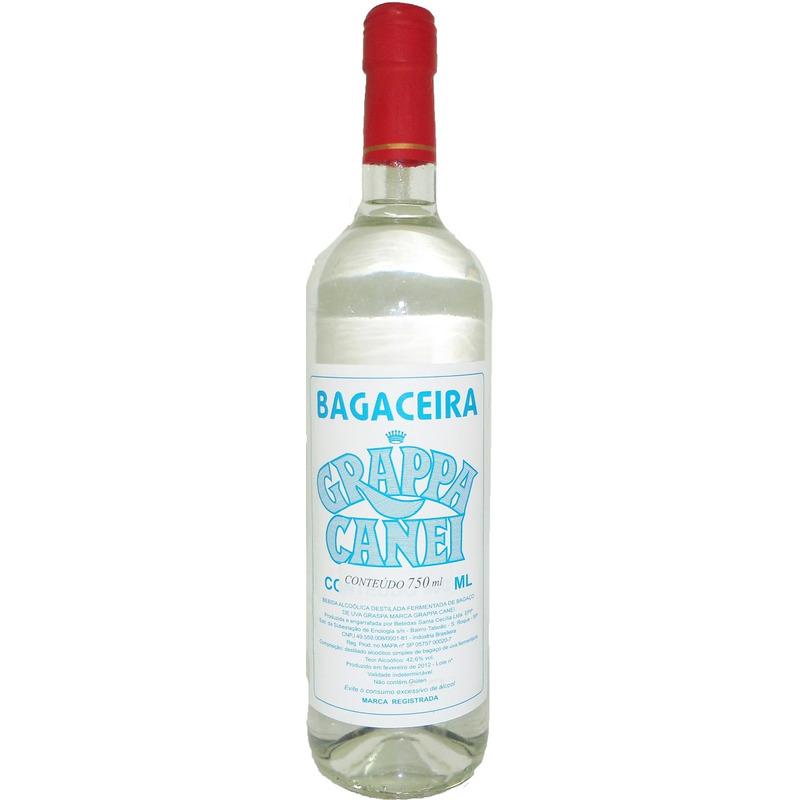 Bagaceira Grappa Canei 750ml - Sta Cecília