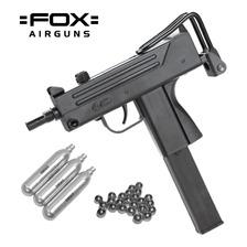 Pistola Fox Uzi Mac11 Semiautomatica Aire Comprimido Co2 Bal