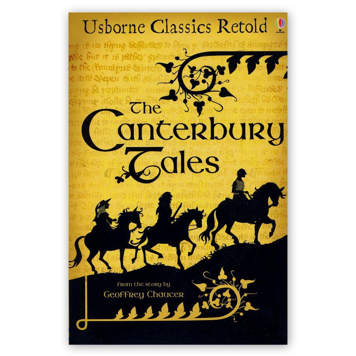 The Canterbury Tales - Ed Usborne Classics Retold