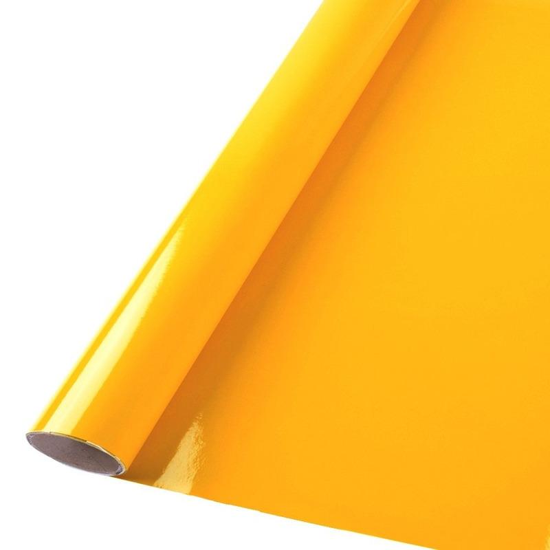 Vinil adesivo colormax amarelo ouro larg. 1,0 m