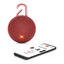 Parlante Portatil Jbl Clip 3 Bluetooth Waterproof Red