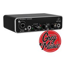 Placa Behringer Umc22 Interface Usb Audiophile 2x2 Audio Umc