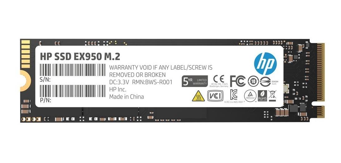 Disco Solido Ssd Hp Ex950 1tb Pcie Nvme M.2 M2 Nand Tlc Gtia