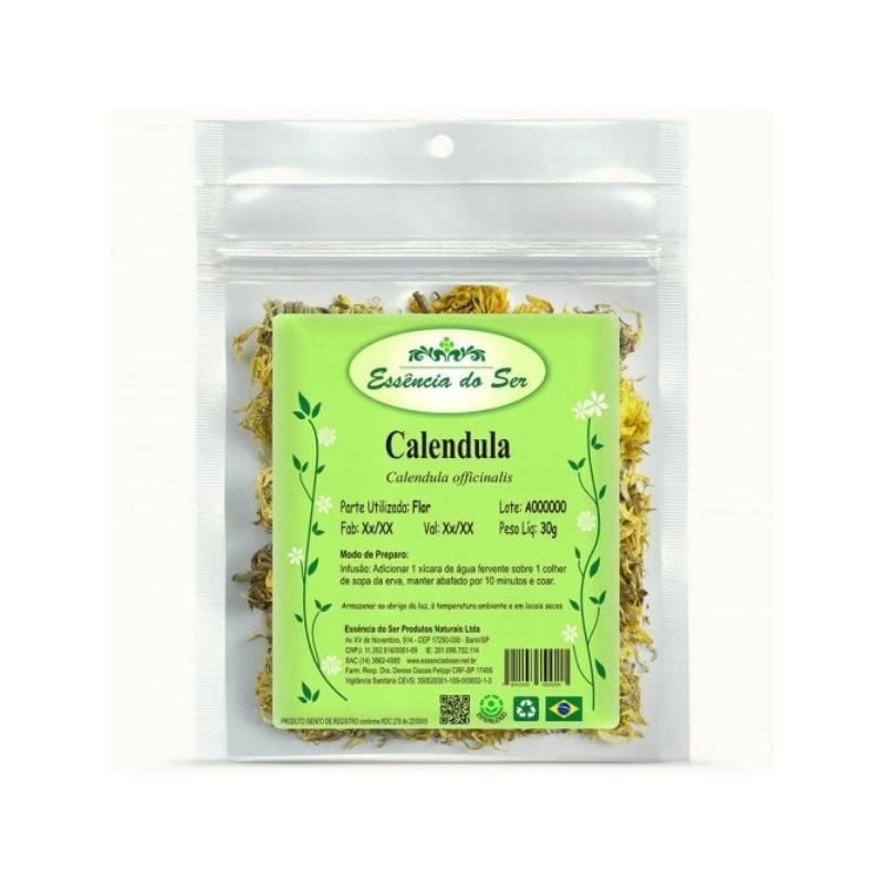 Cha de Calendula - Kit 2 x 30g - Essencia do Ser
