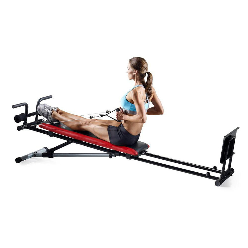 Sistema De Poleas Y Cables De Weider Body Works, Banco Inclinable