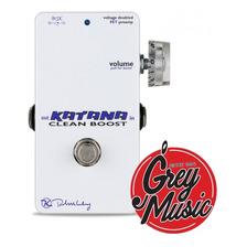 Pedal Keeley Booster Version Mini Del Katana - Grey Music -
