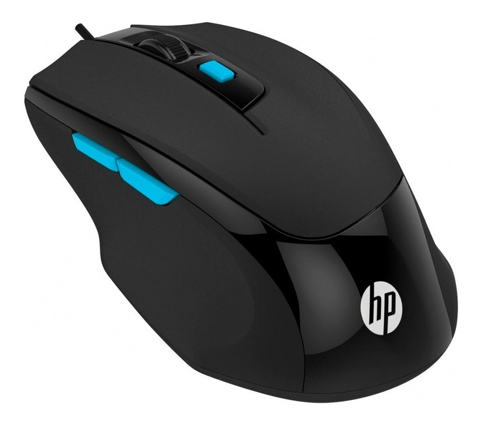 Mouse Gamer Hp M150 Black Optico 1600dpi Usb