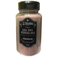 Sal Rosa do Himalaia Fino Pote 250g - El Shaddai Gourmet