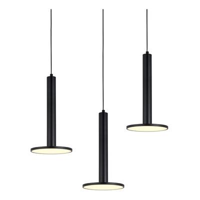 Lámpara Colgante 3 Luces Ufo Led 36w Deco Moderno Lk