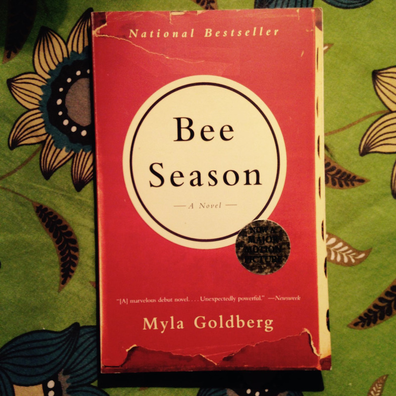 Myla Goldberg.  BEE SEASON.