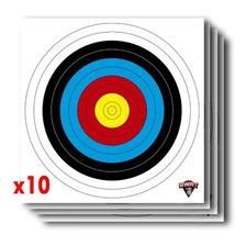 Blanco Arqueria Fita Color 40cm X 40cm - X10 - Arco Y Flecha