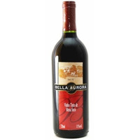 Vinho Tinto Seco Izabel/Bordô 720ml - Bella Aurora