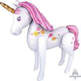 globo caminante unicornio desinflado 1.2mts aprox