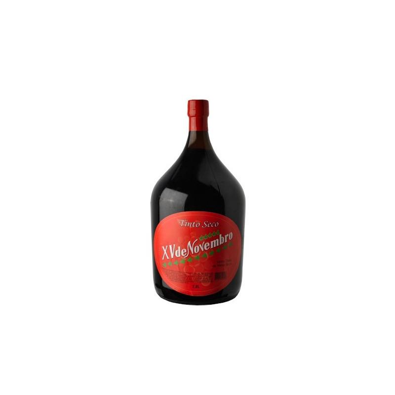 Vinho Tinto Seco Izabel 2 L - XV de Novembro