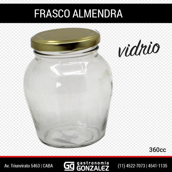 Frasco Almendra